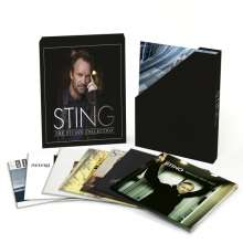 Sting (geb. 1951): The Studio Collection (180g) (Limited-Edition-Box-Set), 11 LPs