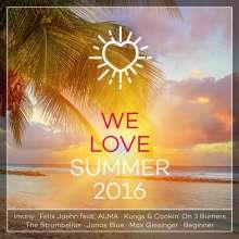 We Love Summer 2016, 2 CDs