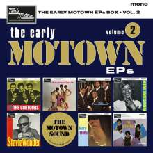 "The Early Motown EPs Box Vol. 2 (Limited-Numbered-Edition-Boxset) (Mono), 7 Single 7""s"