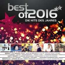 Best Of 2016: Die Hits des Jahres, 2 CDs