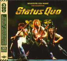 Status Quo: Whatever You Want: The Essential Status Quo, 3 CDs
