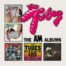 The Tubes: The A&M Albums, 5 CDs