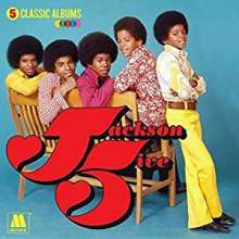 The Jacksons (aka Jackson 5): 5 Classic Albums, 5 CDs
