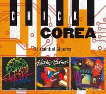 Chick Corea (geb. 1941): 3 Essential Albums, 3 CDs
