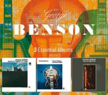 George Benson (geb. 1943): 3 Essential Albums, 3 CDs
