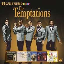 The Temptations: 5 Classic Albums, 5 CDs