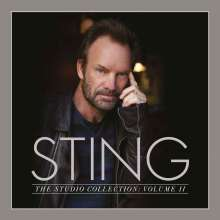 Sting (geb. 1951): The Studio Collection: Volume II (180g) (Limited-Edition) (Box-Set), 5 LPs
