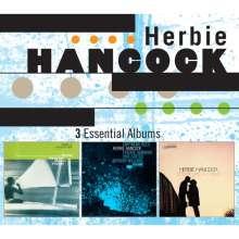 Herbie Hancock (geb. 1940): 3 Essential Albums, 3 CDs
