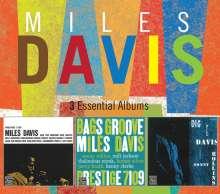 Miles Davis (1926-1991): 3 Essential Albums, 3 CDs