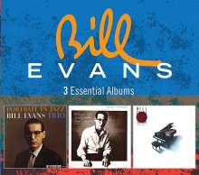 Bill Evans (Piano) (1929-1980): 3 Essential Albums (The Riverside Years), 3 CDs