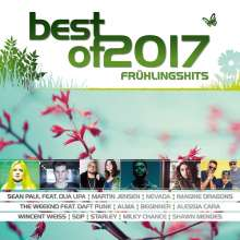 Best Of 2017 - Frühlingshits, 2 CDs