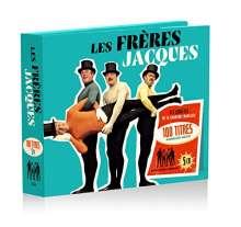 Les Frères Jacques: 100 Titres, 5 CDs