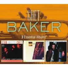 Chet Baker (1929-1988): 3 Essential Albums, 3 CDs