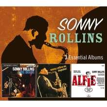 Sonny Rollins (geb. 1930): 3 Essential Albums, 3 CDs