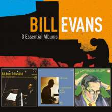 Bill Evans (Piano) (1929-1980): 3 Essential Albums (Verve-Edition), 3 CDs