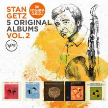 Stan Getz (1927-1991): 5 Original Albums Vol. 2, 5 CDs