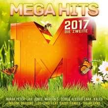 Megahits 2017 - Die Zweite, 2 CDs