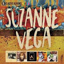 Suzanne Vega: 5 Classic Albums, 5 CDs