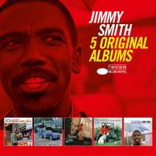 Jimmy Smith (Organ) (1928-2005): 5 Original Albums, 5 CDs