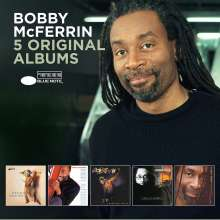 Bobby McFerrin (geb. 1950): 5 Original Albums, 5 CDs