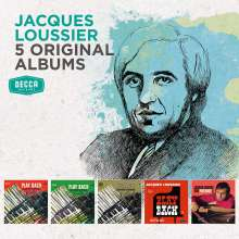 Jacques Loussier (1934-2019): 5 Original Albums, 5 CDs