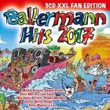 Ballermann Hits 2017 (XXL-Fan-Edition), 3 CDs