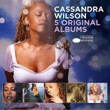 Cassandra Wilson (geb. 1955): 5 Original Albums, 5 CDs