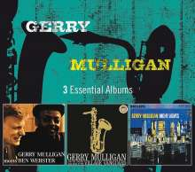 Gerry Mulligan (1927-1996): 3 Essential Albums, 3 CDs