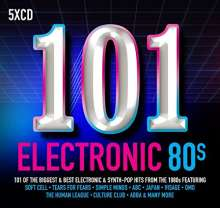 101 Electronic 80s, 5 CDs