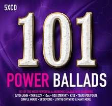 101 Power Ballads, 5 CDs