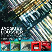 Jacques Loussier (1934-2019): 5 Original Albums, 5 CDs