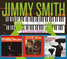 Jimmy Smith (Organ) (1928-2005): 3 Essential Albums, 3 CDs