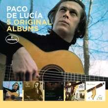 Paco de Lucia (1947-2014): 5 Original Albums, 5 CDs