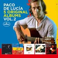 Paco de Lucia (1947-2014): 5 Original Albums Vol.2, 5 CDs