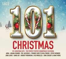 101 Christmas Hits, 5 CDs