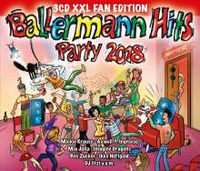 Ballermann Hits Party 2018 (XXL-Fan-Edition), 3 CDs