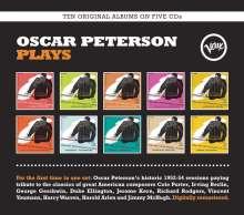 Oscar Peterson (1925-2007): Oscar Peterson Plays (Box-Set), 5 CDs