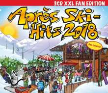 Après Ski Hits 2018 - XXL Fan Edition, 3 CDs