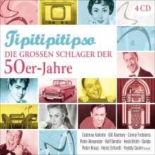 Tipitipitipso: Die großen Schlager der 50er-Jahre, 4 CDs