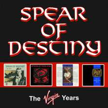Spear Of Destiny: The Virgin Years, 4 CDs