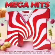 Megahits 2018 - Die Zweite, 2 CDs