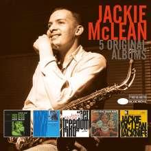 Jackie McLean (1931-2006): 5 Original Albums, 5 CDs