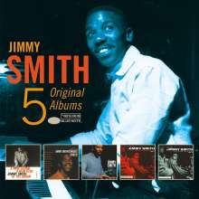 Jimmy Smith (Organ) (1928-2005): 5 Original Albums Vol.2, 5 CDs