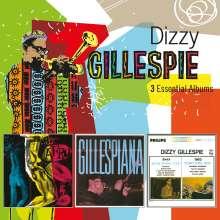 Dizzy Gillespie (1917-1993): 3 Essential Albums, 3 CDs