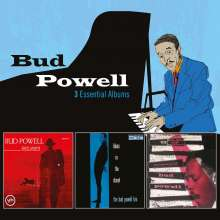 Bud Powell (1924-1966): 3 Essential Albums, 3 CDs