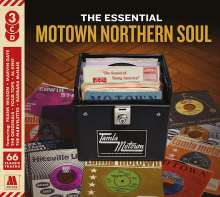 The Essential Motown Northern Soul, 3 CDs