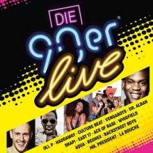 Die 90er Live, 2 CDs