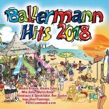 Ballermann Hits 2018, 2 CDs