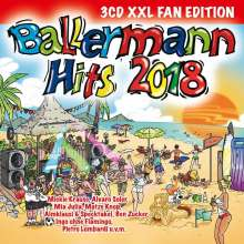 Ballermann Hits 2018 (XXL-Fan-Edition), 3 CDs