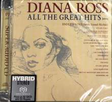 Diana Ross: All The Great Hits (Limited-Edition), Super Audio CD